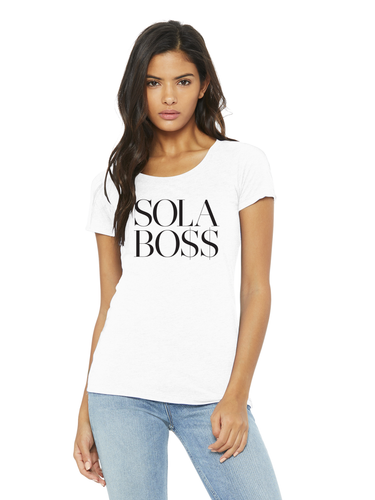 SOLA BO$$ Short Sleeve Tee (slim fit)