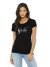Load image into Gallery viewer, Classic Sola Logo Short Sleeve Tee (slim fit)
