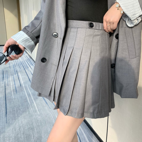L1183 pleated skirt