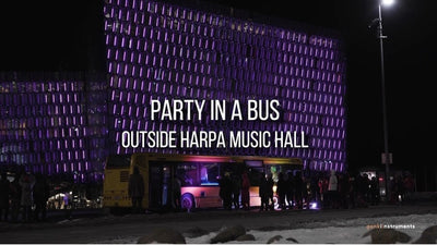 Music lights up <br>Harpa Music Hall