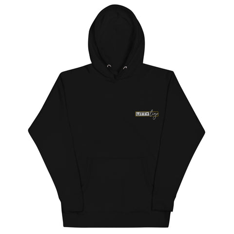 Litty Ligo Logo Embroidered Hoodie