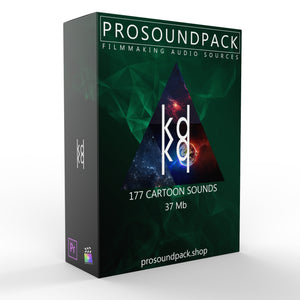 177 CARTOON SOUNDS PACK