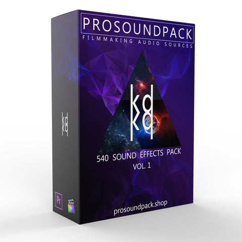 540 SOUND EFFECTS PACK vol. 1