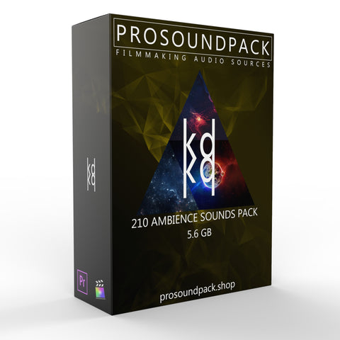210 AMBIENCE SOUNDS PACK