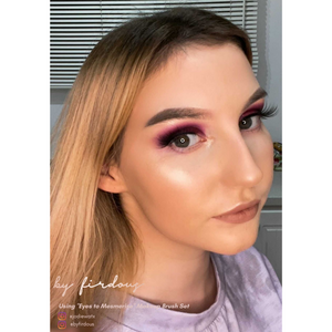 @jodiewatx using our eyes to mesmerise makeup brush set