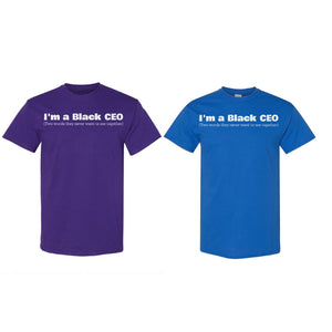 """Black CEO"" T-shirt"