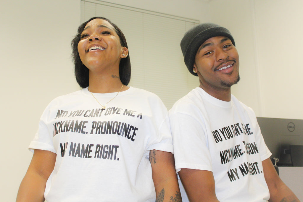 """Pronounce My Name Right"" T-shirt"