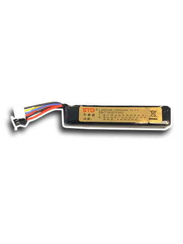 11.1V 2000mah - Battery Upgrade for M4A1 V8 / V9, AK V2, Well M4