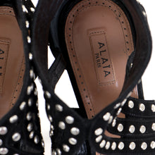 Load image into Gallery viewer, Suede Studded Sandals 38.5