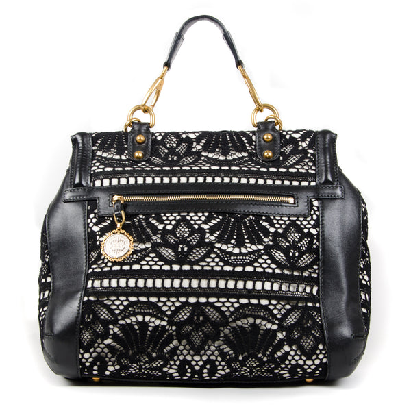 Large Miss Sicily Lace Heritage Satchel