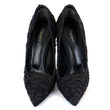 Load image into Gallery viewer, Lace Pointed Court Shoes 38