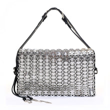 Load image into Gallery viewer, Rare Silver Chainmail Shoulder Bag