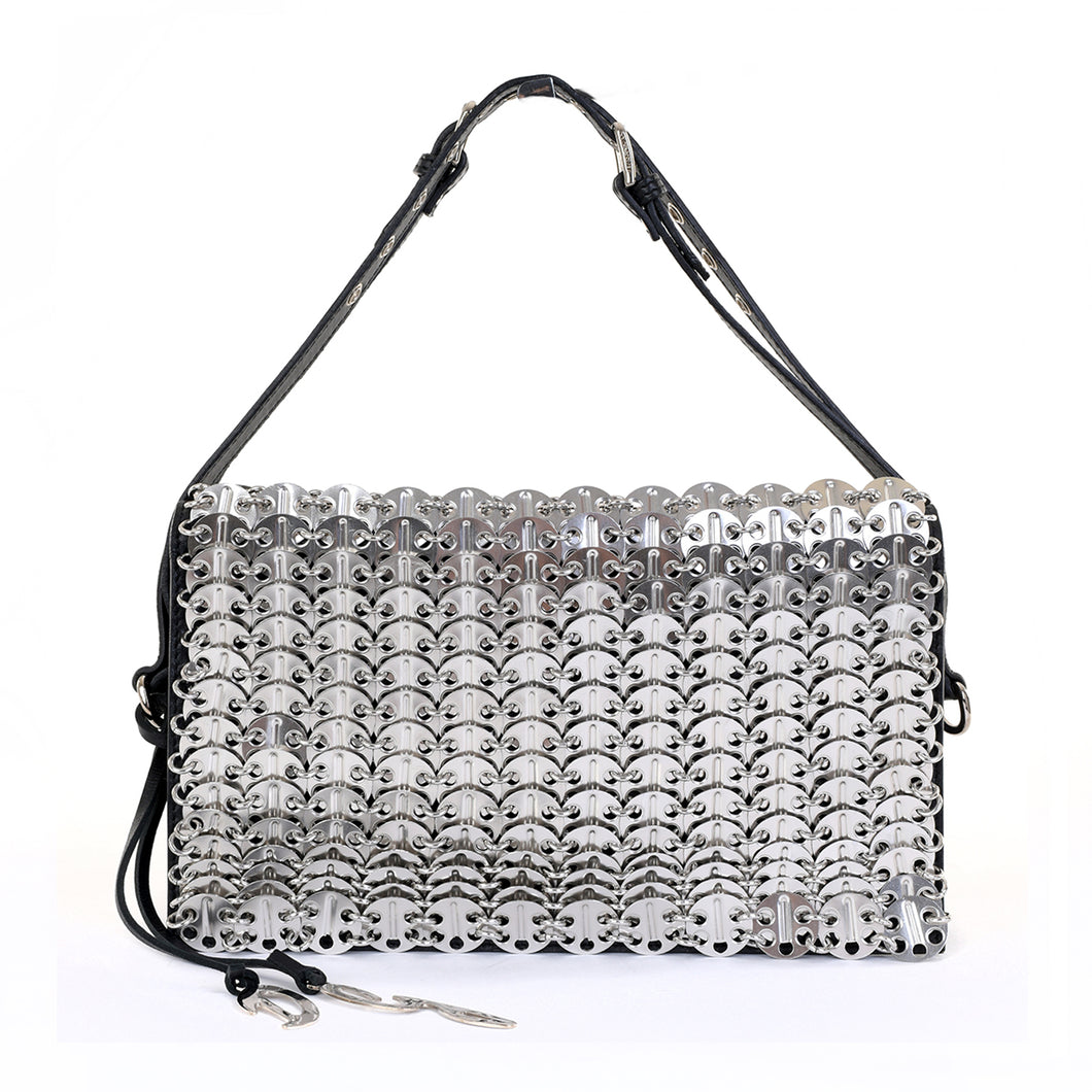 Rare Silver Chainmail Shoulder Bag