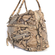 Load image into Gallery viewer, Python Ruffle Sabrina Boston Bag