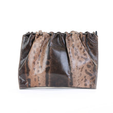 Load image into Gallery viewer, Vintage Brown Python Shoulder Bag