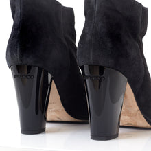 Load image into Gallery viewer, Marley Black Ombre Glitter Ankle Boots 39