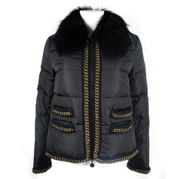 Black Bergenie Down Jacket UK10