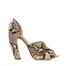 Load image into Gallery viewer, Python Banana Heel Sandals 39