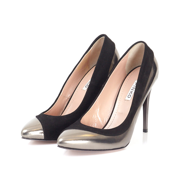 Pewter Patent Pointed Courts 39
