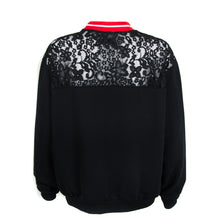 Load image into Gallery viewer, Uniqueness Lace Insert Sweatshirt