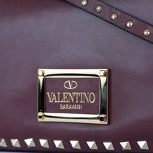 Load image into Gallery viewer, Vitello Leather All Over Rockstud Tote