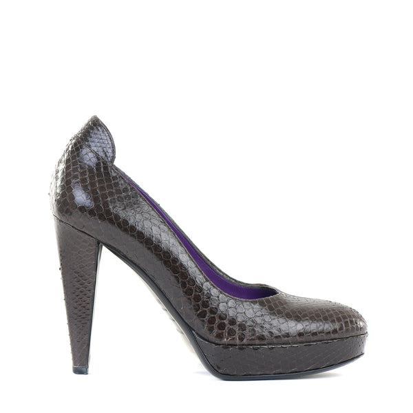 Embossed Patent Leather Pumps 39