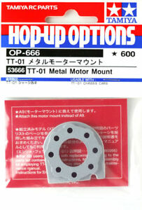 Tamiya Alloy motor mount for TT01. 53666