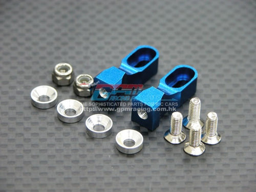 GPM Alloy servo Mount (blue) TT024