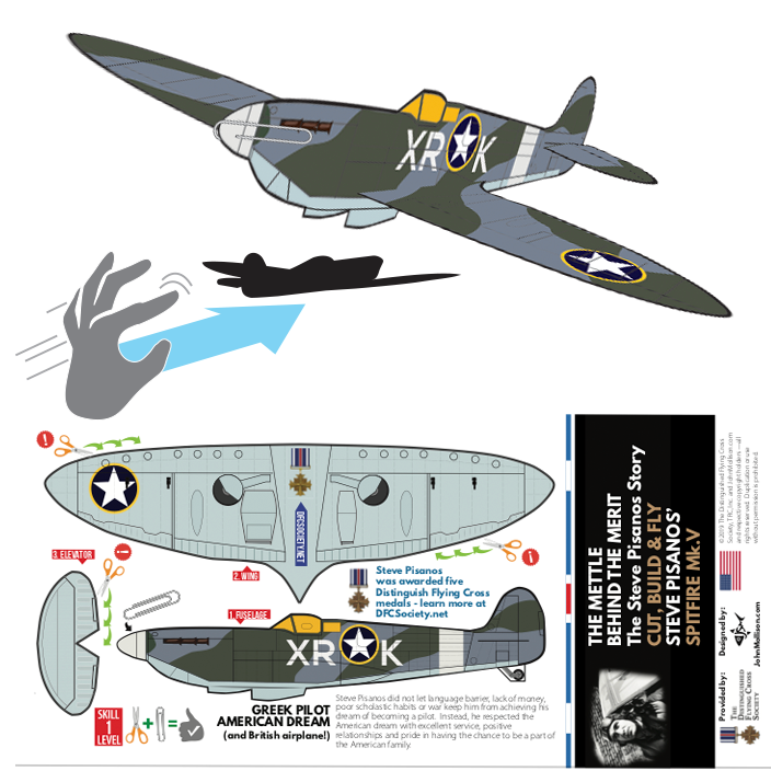 FREE - Spitfire Cut-Out PlaneCard™