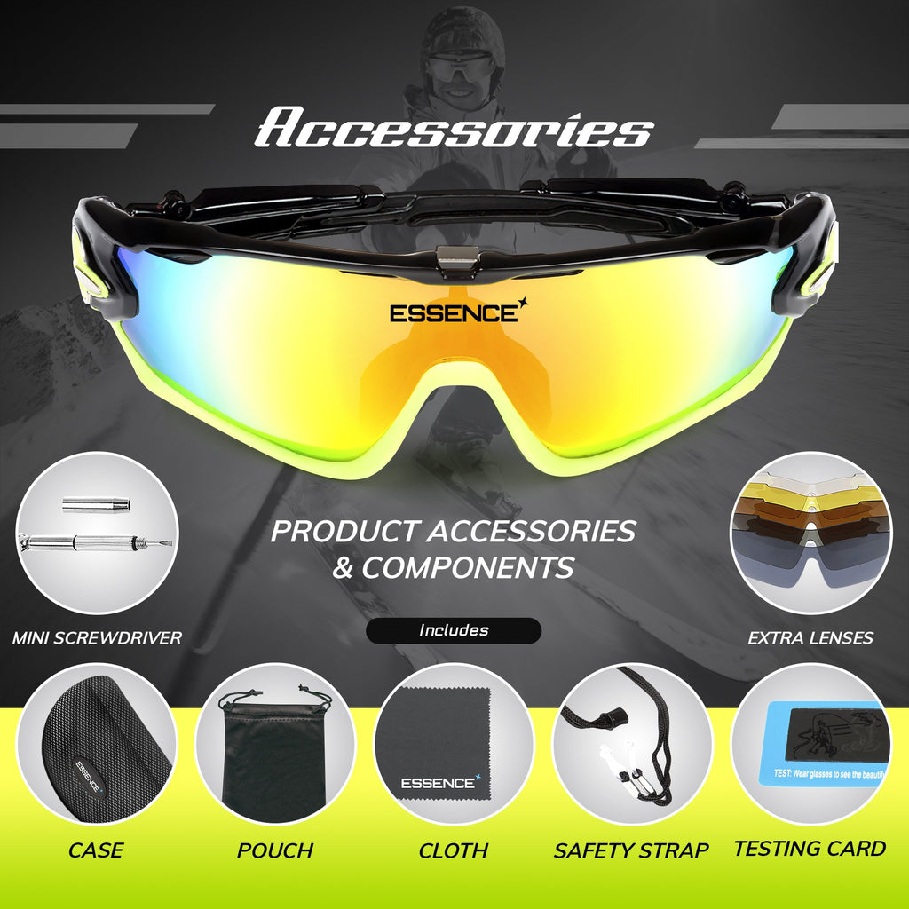 polarised sunglasses with accessories