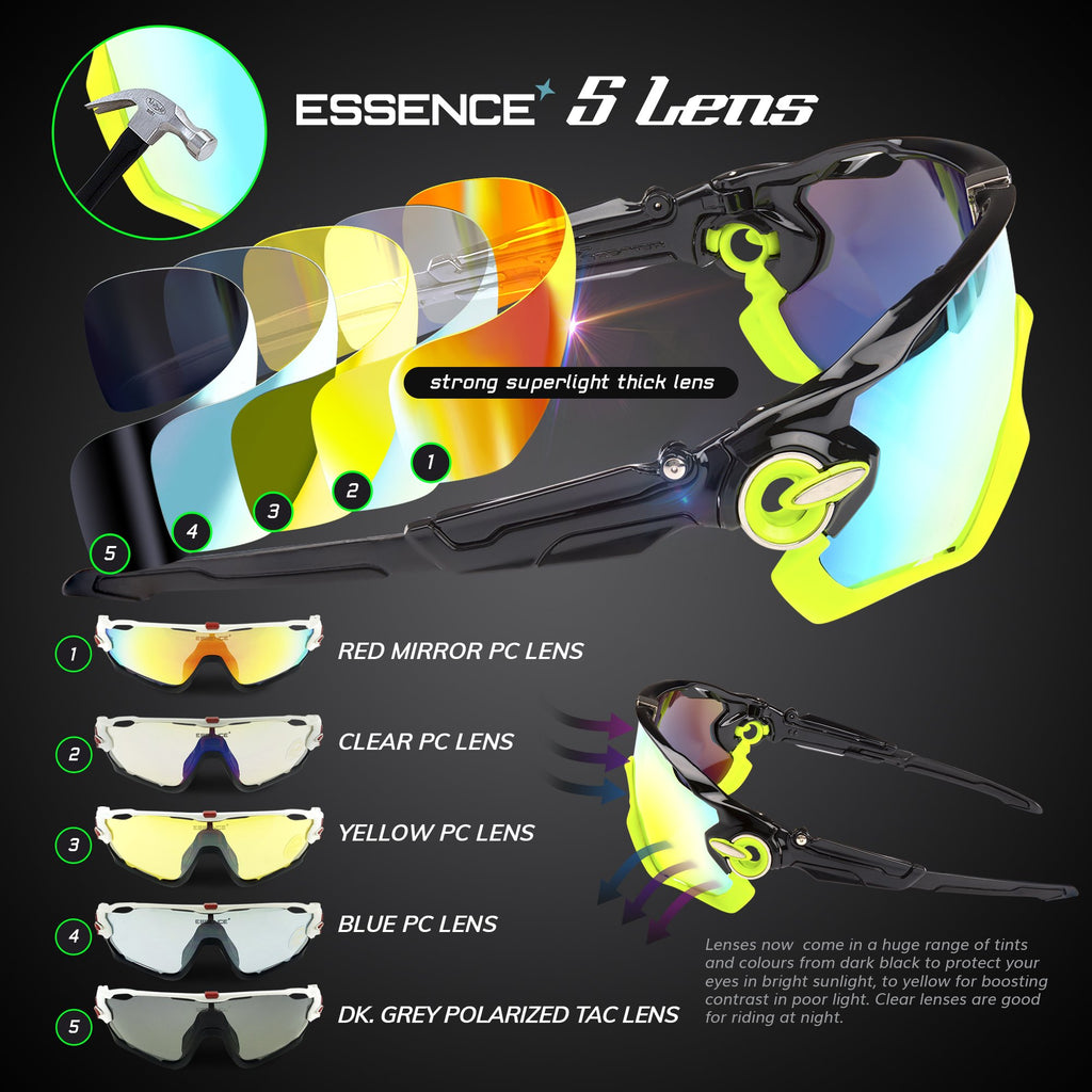 lenses for cycling glasses