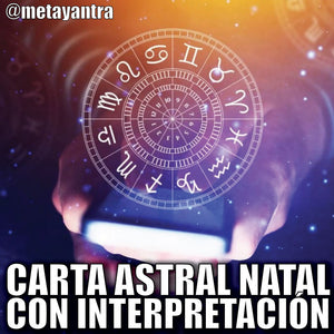 Carta Astral Natal con Interpretación