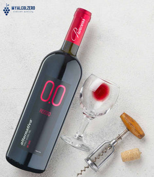 Alternativa 0.0 Rosso Dry Taste - Analcolico da vino dealcolato