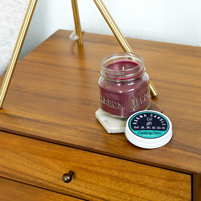 Cranberry Citrus Soy Candles