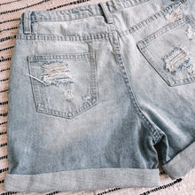 Load image into Gallery viewer, Denim Mom Shorts