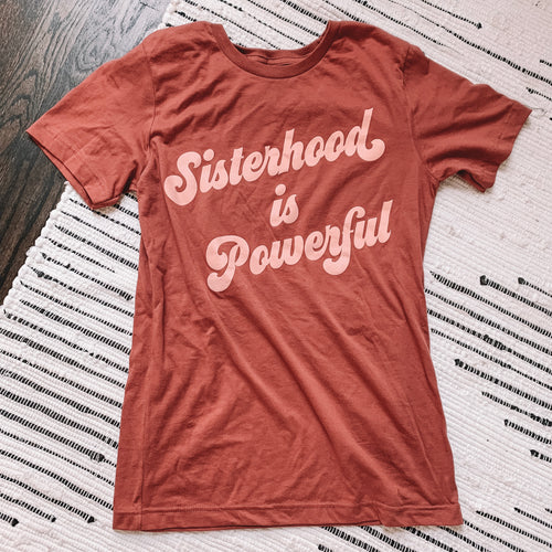 Sisterhood is Powerful Graphic Tee