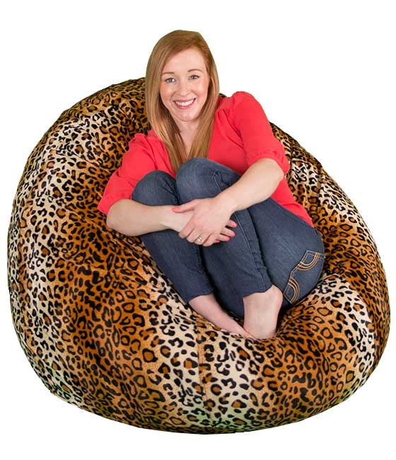 Faux Fur Bean Bag Replacement Cover