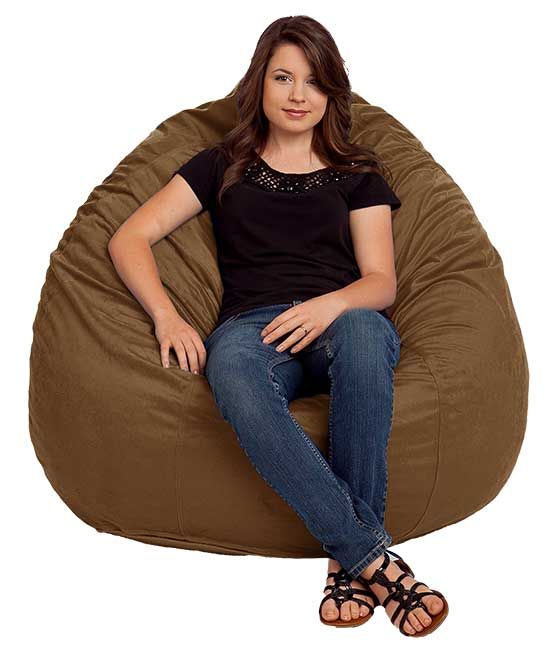 Large Ultra Suede Bean Bag Chairs
