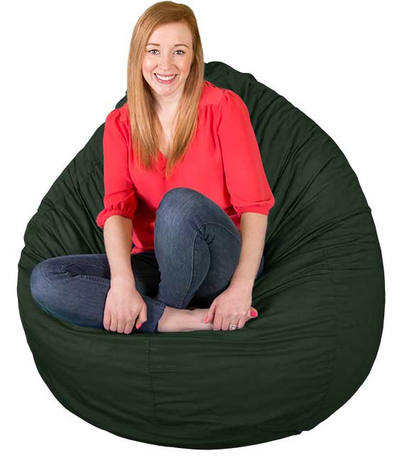 Large Soft Cotton Bean Bag Chairs