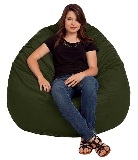 Ultra Suede Bean Bag Replacement Cover