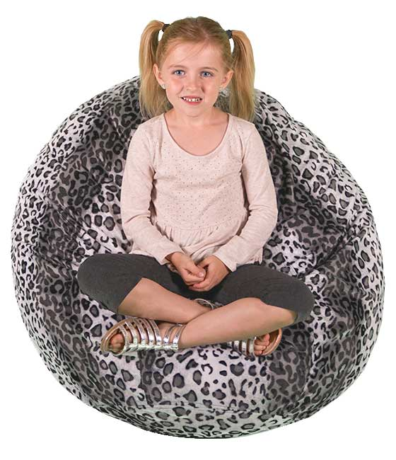 Small Faux Fur Bean Bag Chairs
