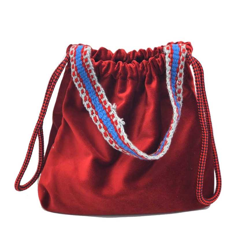 Kolan Handbag - Bordo