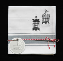 Load image into Gallery viewer, Grey Napkins - Set of 4 pieces