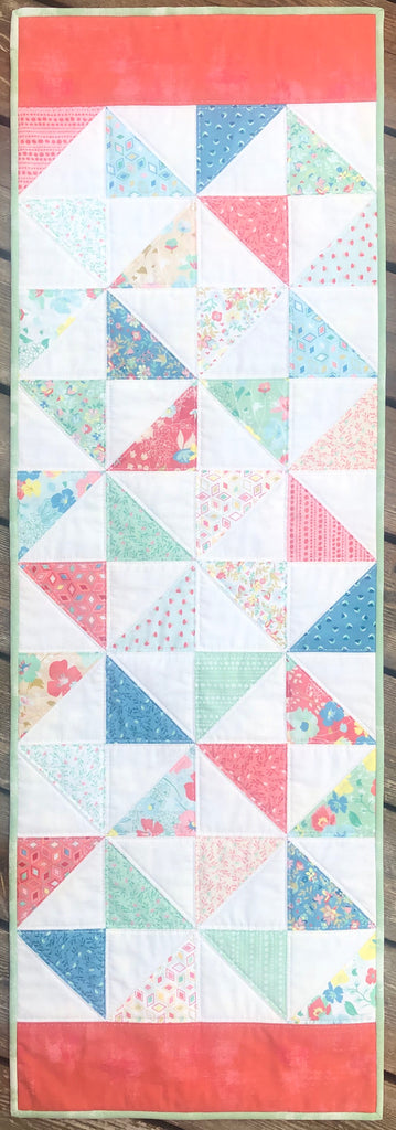Pinwheel Table Runner Quilt Kit