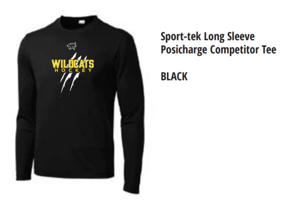 Long Sleeve Hockey Tee