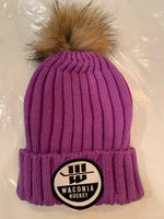 Women's Hockey Pom Beanie