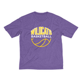 Youth Wildcats Basketball Dri-Ft Tee