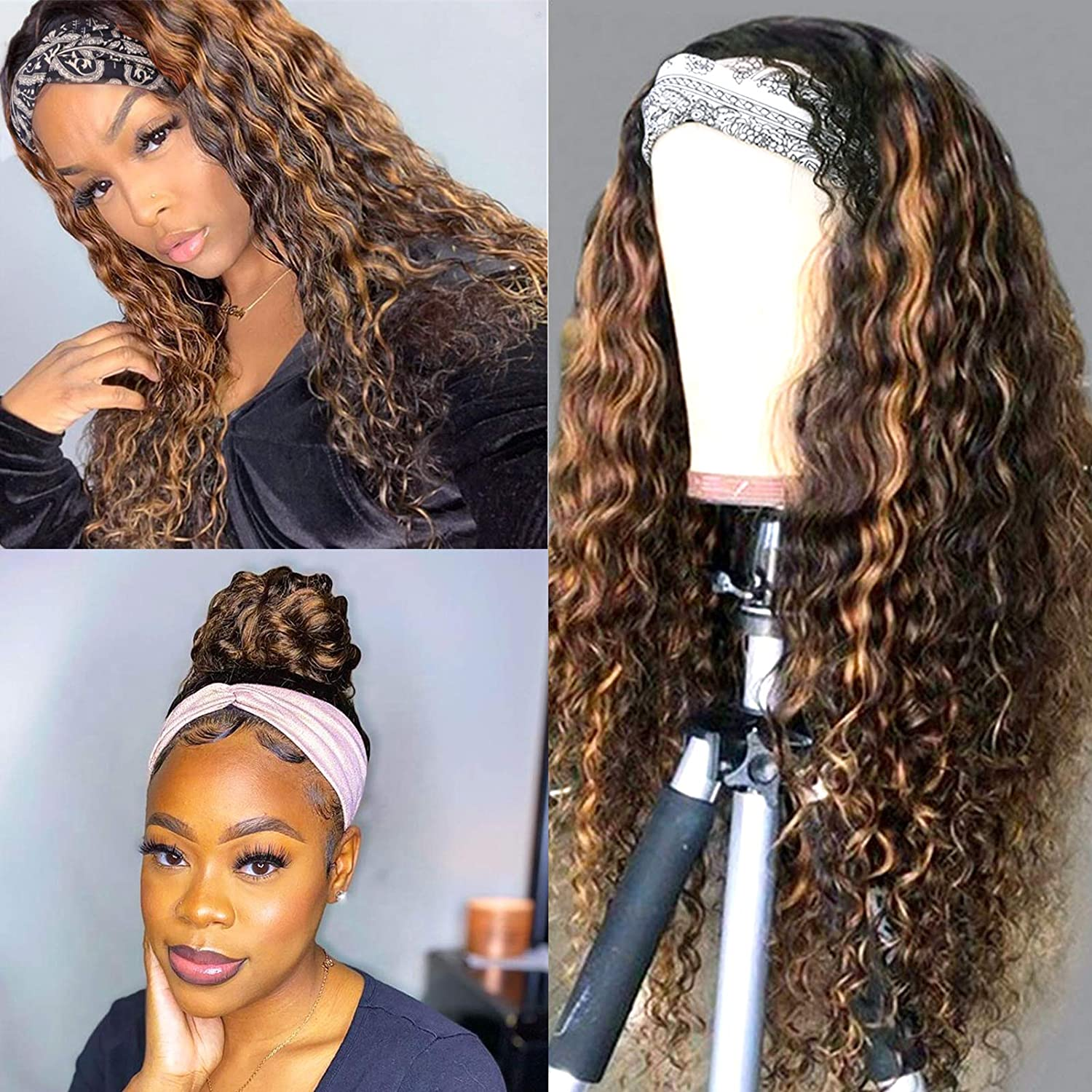 Why buy colored hair headband wigs