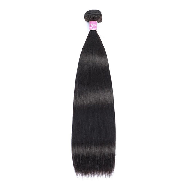 Angie Queen 1 Bundle Malaysian Silky Straight Virgin Human Hair Weave Bundles