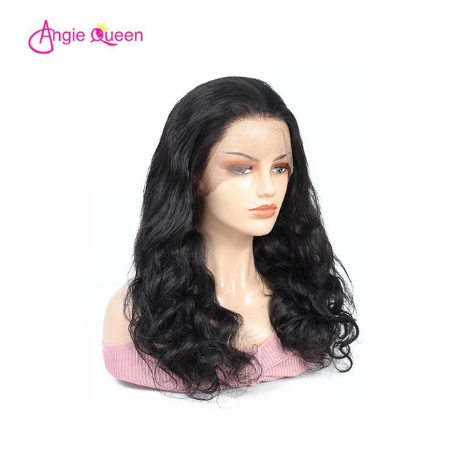 Angie Queen Full Lace Wigs Malaysian Body Wave Human Hair Wigs